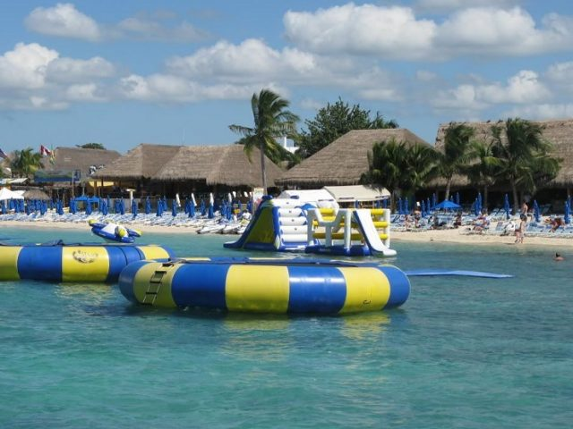 Paradise Beach en Cozumel