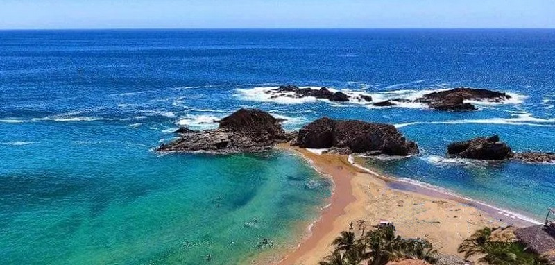 Playa Mazunte en Puerto Escondido