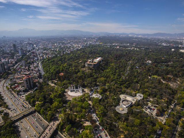 Bosque de Chapultepec en Ciudad de México