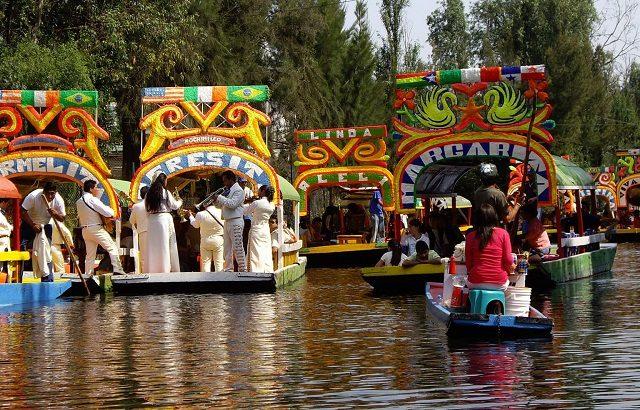 Paseo por Xochimilco en Ciudad de México